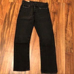 Men's Black Abercrombie Jeans